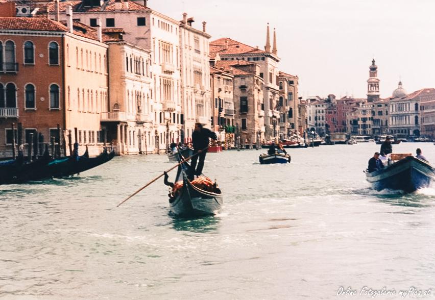 Italien Venedig Gondoliere