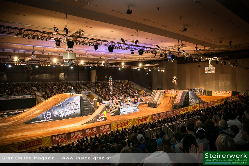 night of the jumps arena stadthalle graz