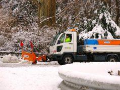 Graz Winter Schneeräumung