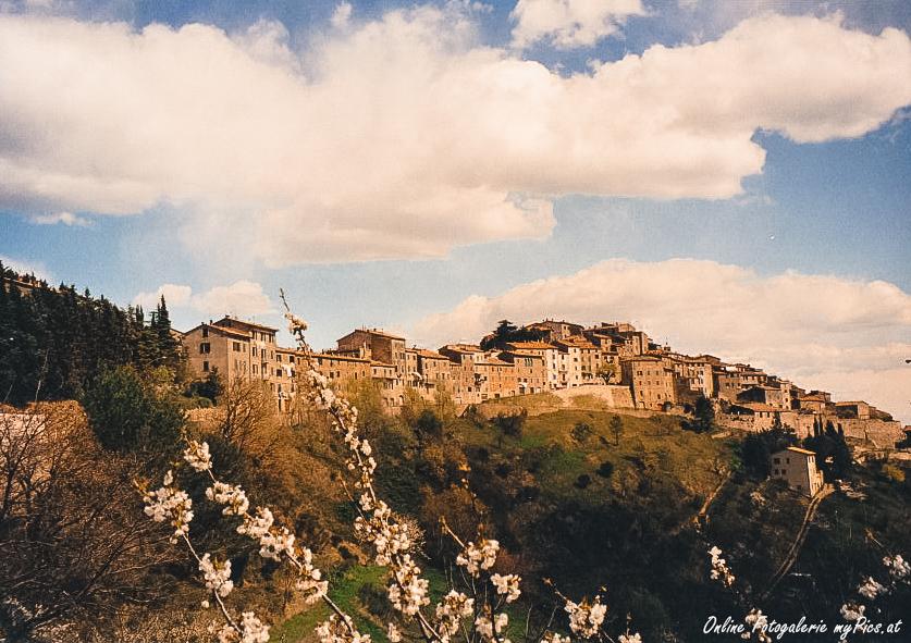 Toskana Italien Chiusdino