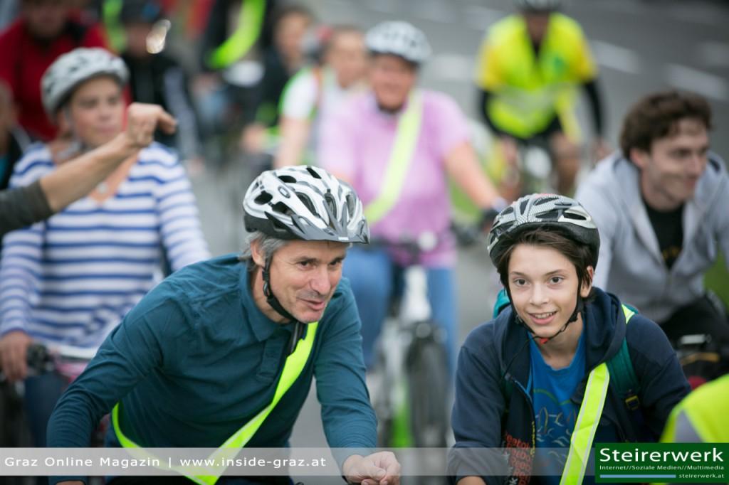 Radfahrer Graz