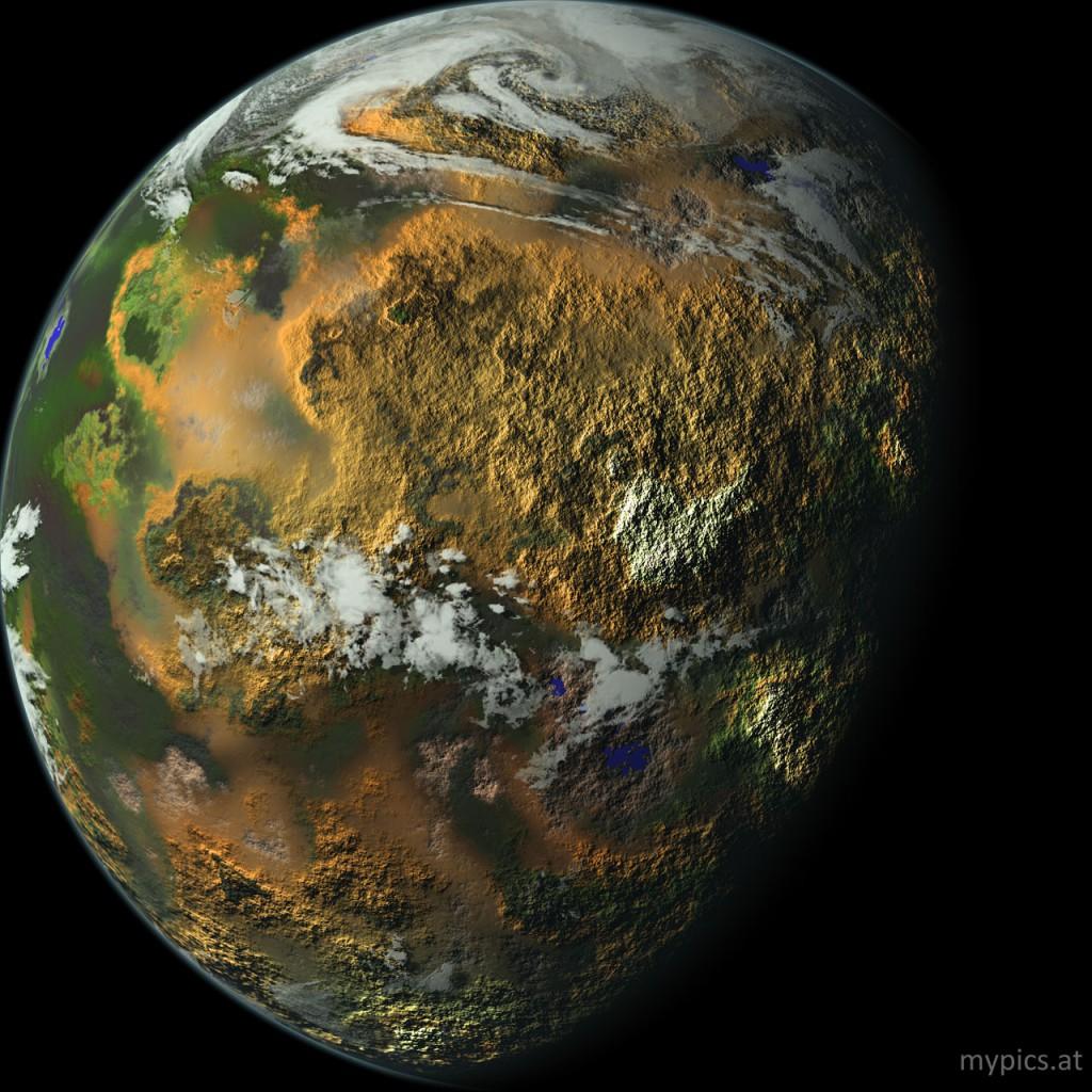 planet weltall unentdeckt