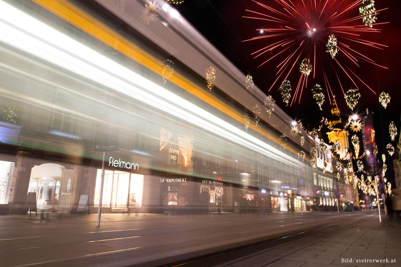Silvester enkelt parti Graz