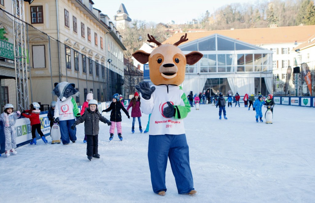 special olympics maskottchen
