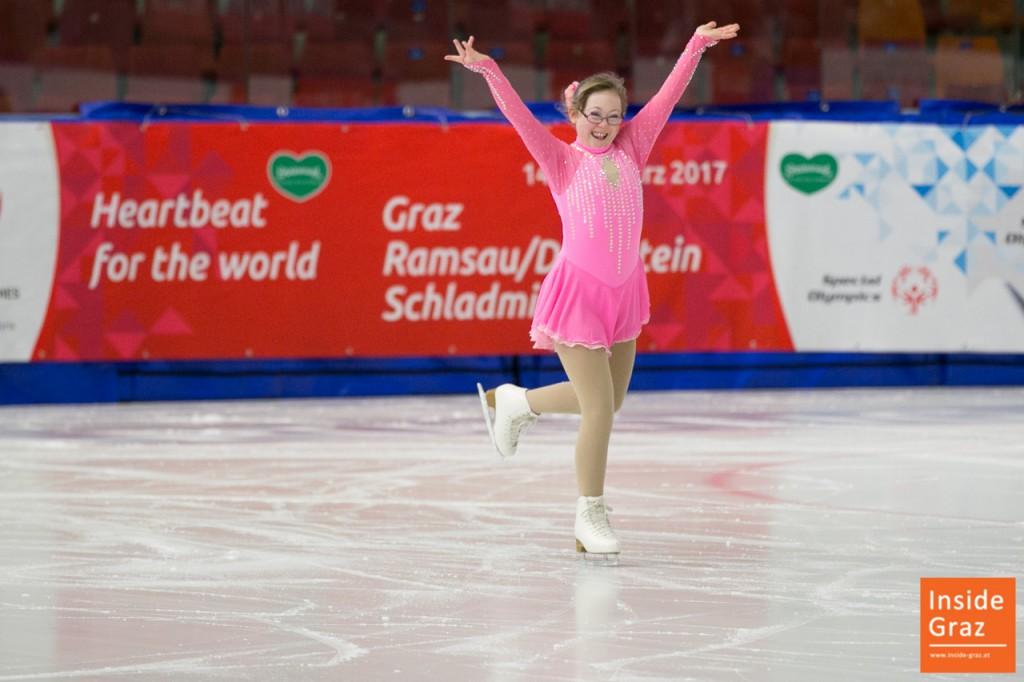Eiskunstlauf Special Olympics