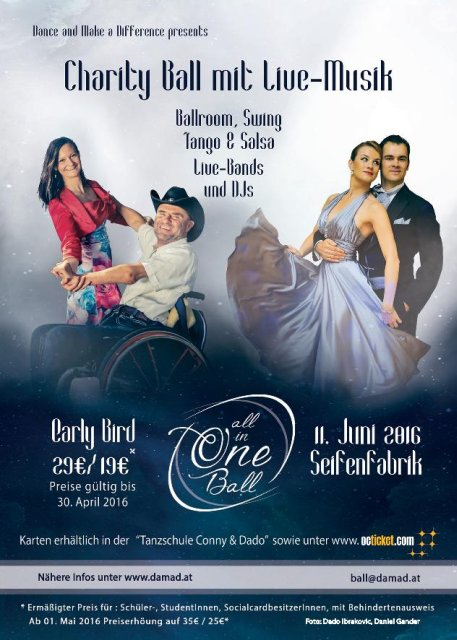 All in One Charity Ball