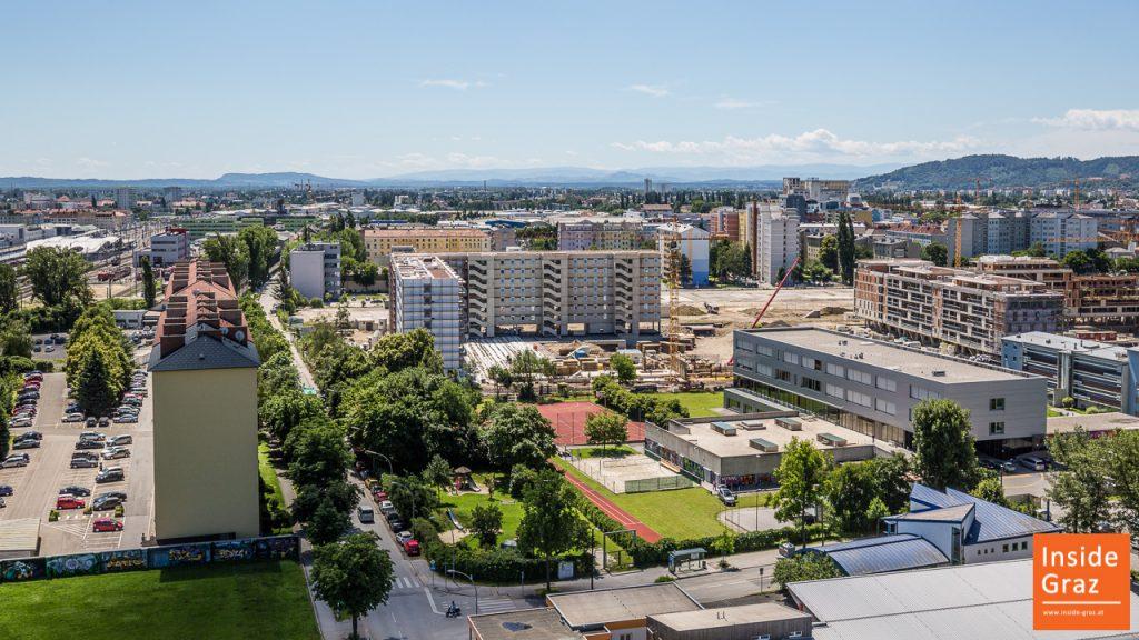 Blick Westen Graz