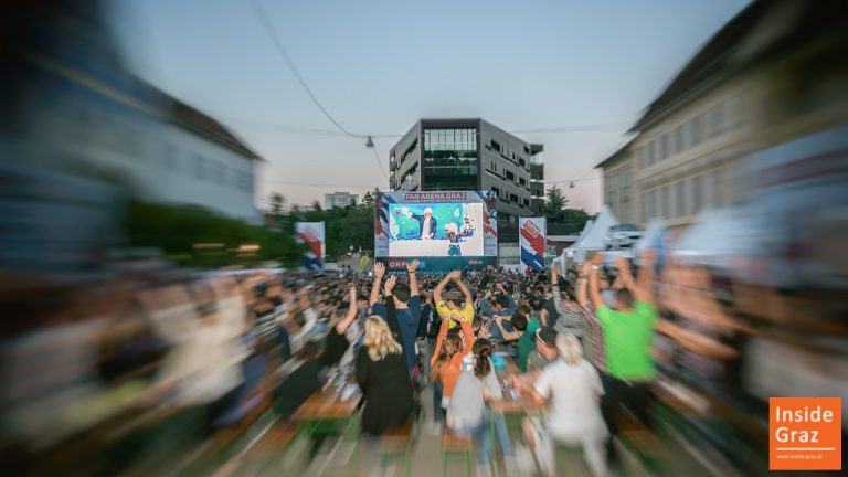 Public Viewing Graz Fussball