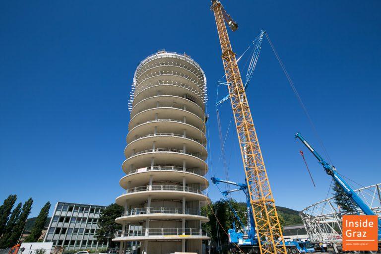 Science Tower Graz Rohbau