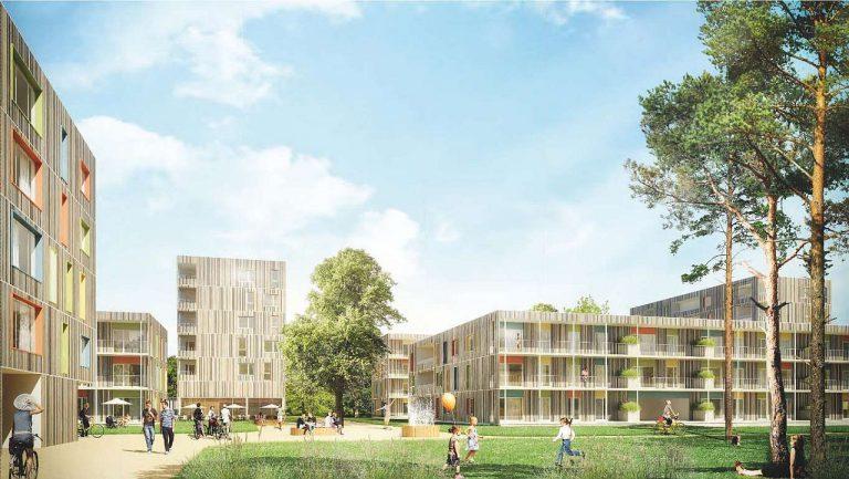 Reininghaus Quartier7 Visualisierung