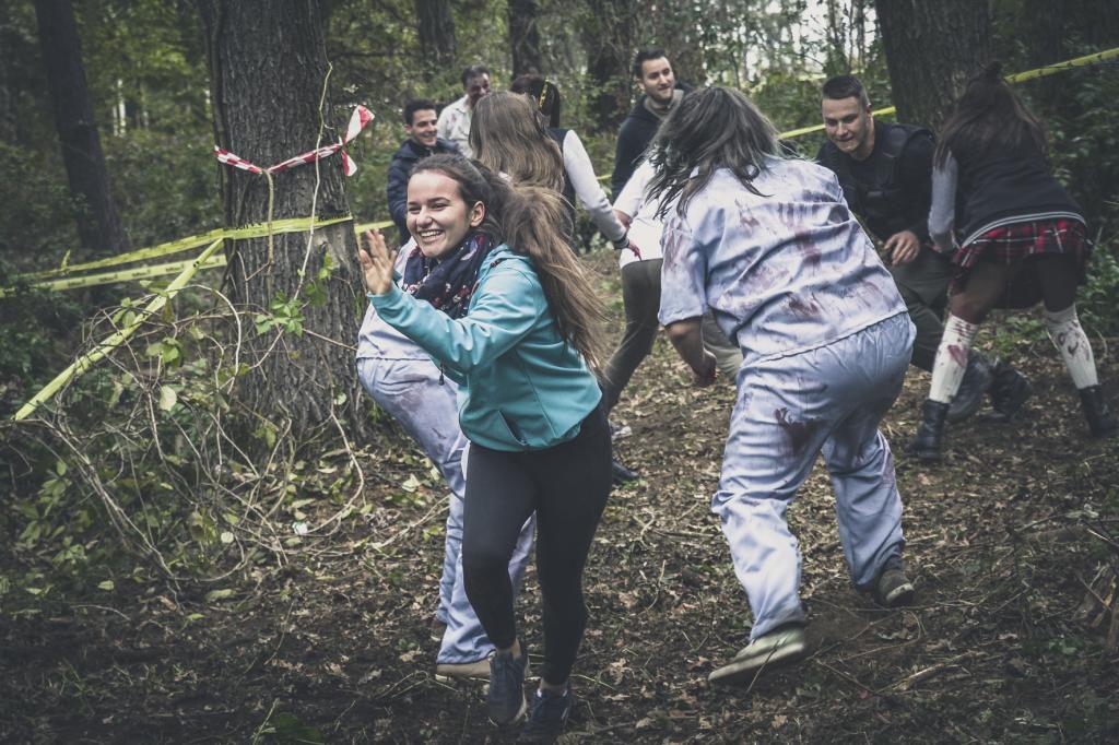 Zombie Run Teilnehmer