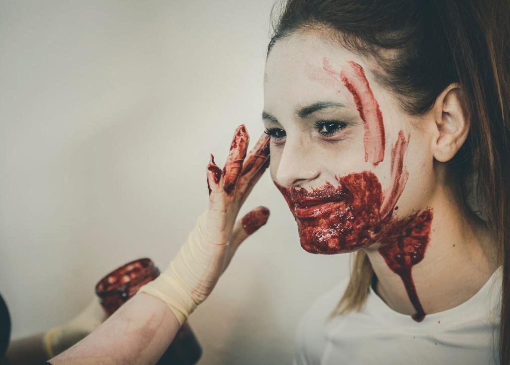 Zombie schminken