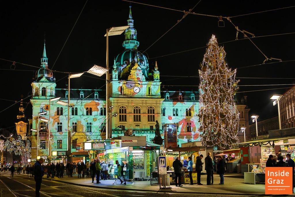 Grazer Advent 2019: Weihnachtsmärkte, Eiskrippe, Krampuslauf & mehr