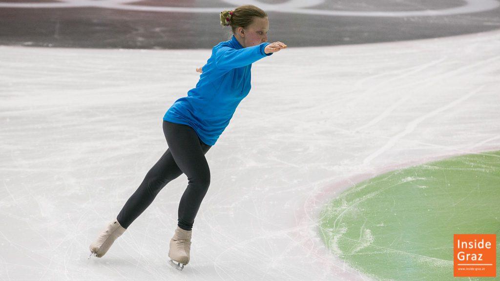 Eiskunstlauf Special Olympics Graz Austria