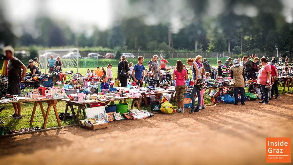 Kinderflohmarkt in Graz