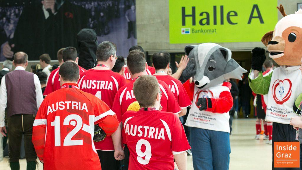 Special Olympics Wintergames in Graz Austria