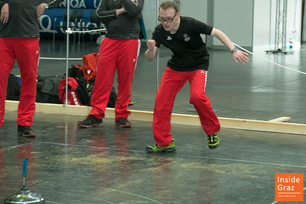 Stocksport bei den Special Olympics