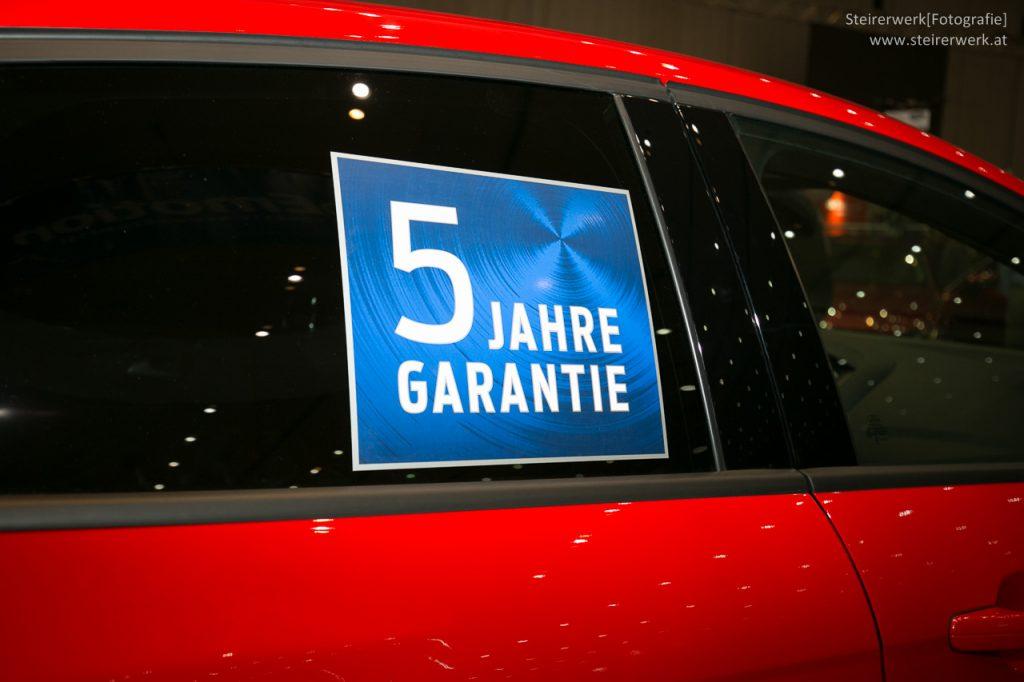 Auto Garantie Jahre