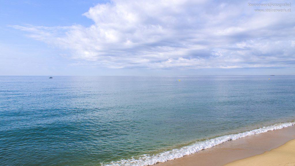 Reisen zum Strand