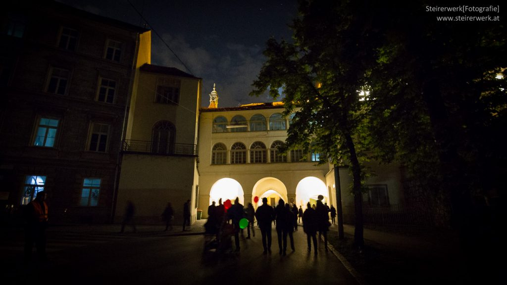 Klanglicht Besucher