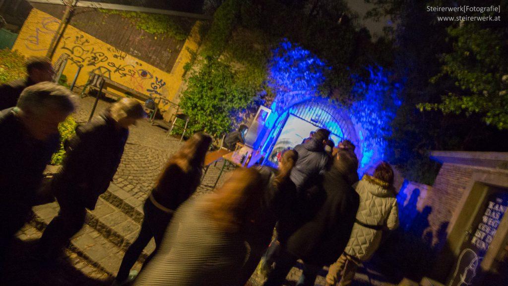 Dom im Berg Klanglicht Graz