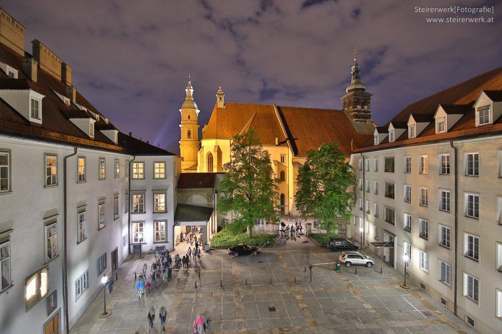 Grazer Burg & Dom HDR