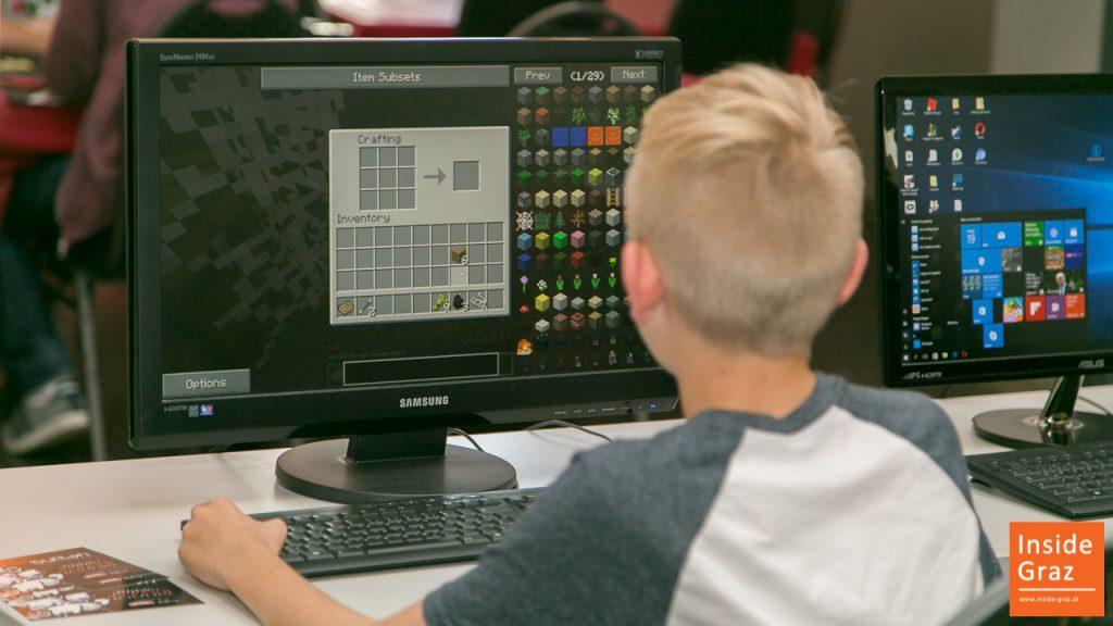 Minecraft Spieler