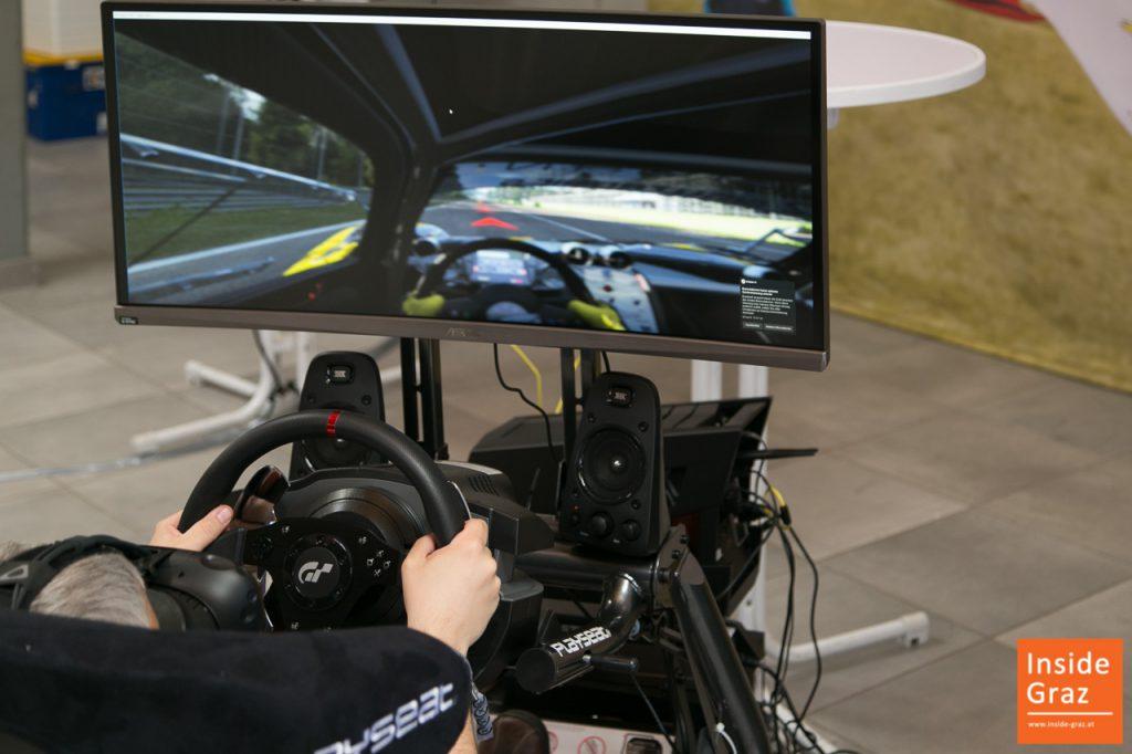 VR-Fahrsimulator