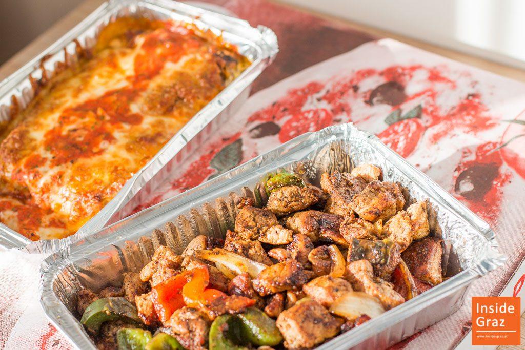 Italienisch Griechisch Essen Lieferservice