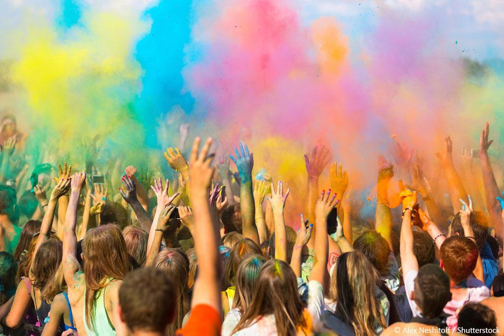 Farben Festival Trends