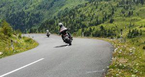 Motorrad Straße