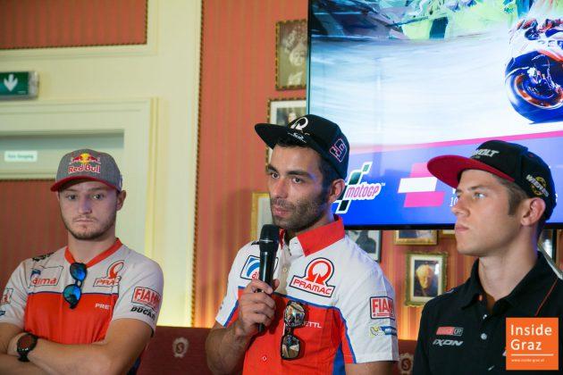 Moto GP Danilo Petrucci in Graz