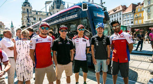 MotoGP Strassenbahn Graz
