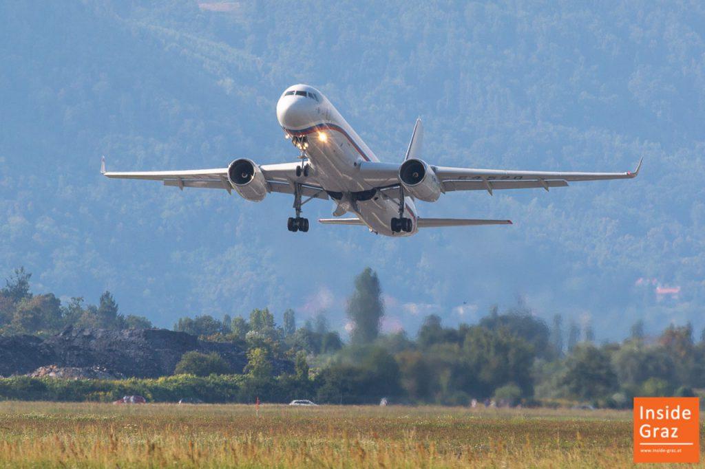Russisches Flugzeug Graz