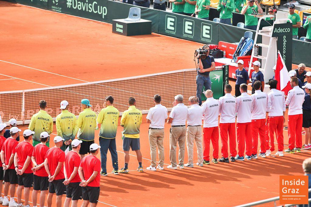 Davis Cup Eröffnung in Graz