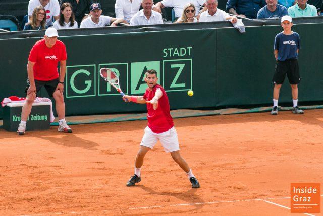 Domic Thiem Davis Cup Österreich Australien Graz