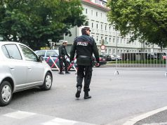 Straßensperren Graz Marathon