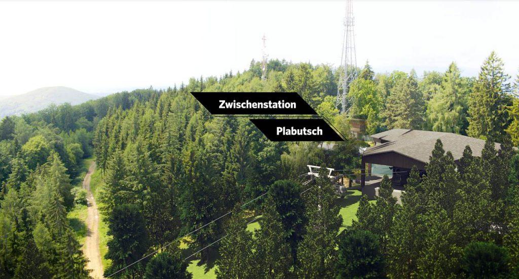 Zwischenstation Gondel Plabutsch