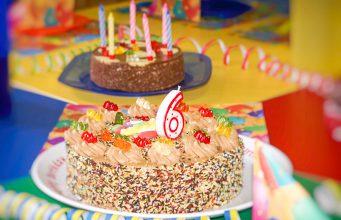Kindergeburtstag feiern Torte