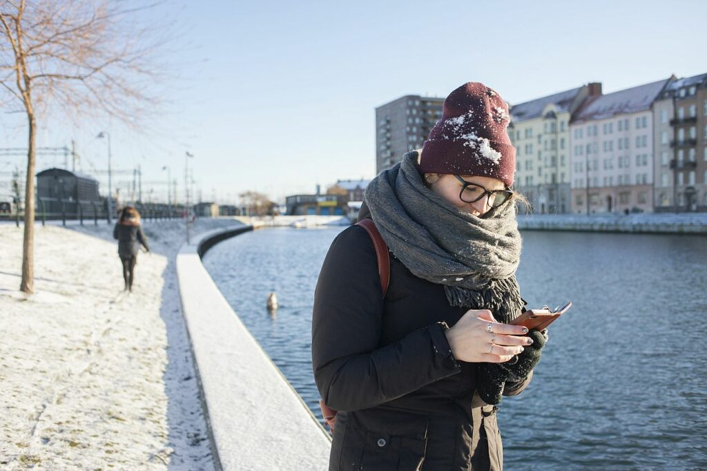 Smartphone Winter
