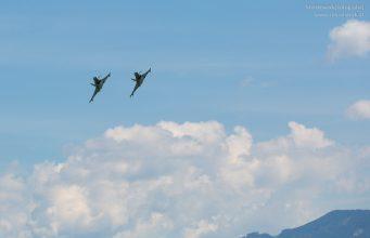 Eurofighter Tiefflug Graz