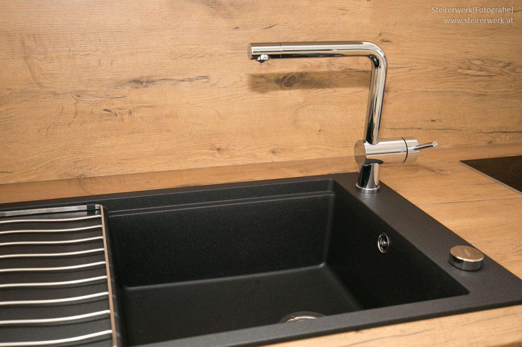 Küchenrückwand Spritzschutz Optik Holz