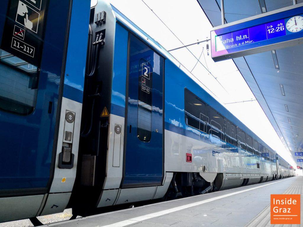 Bahnreise Graz