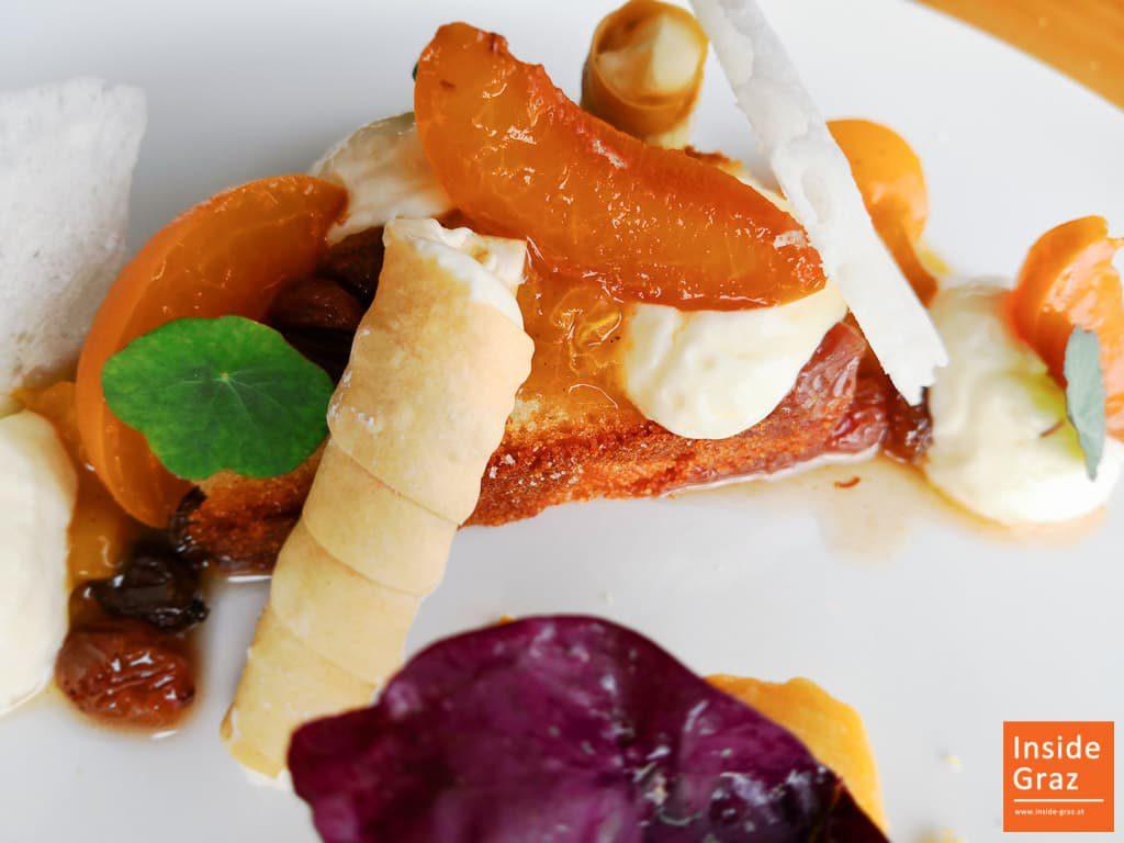 Nachspeise Schlossberg Restaurant
