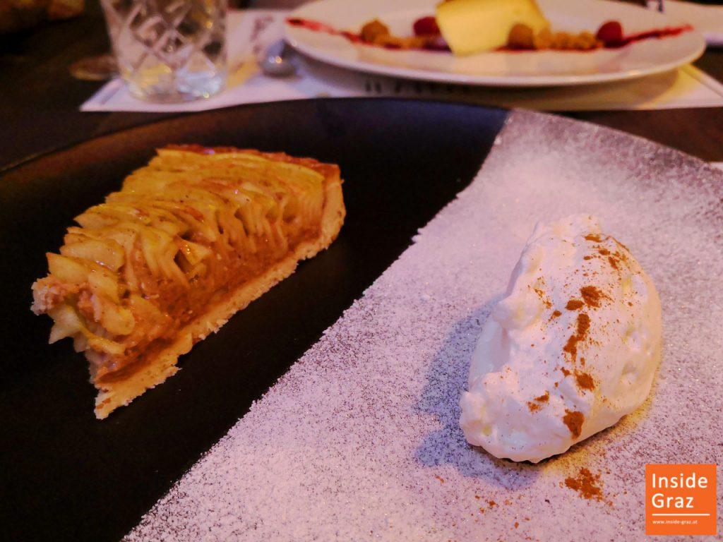 Apfeltarte Dessert im Kornati