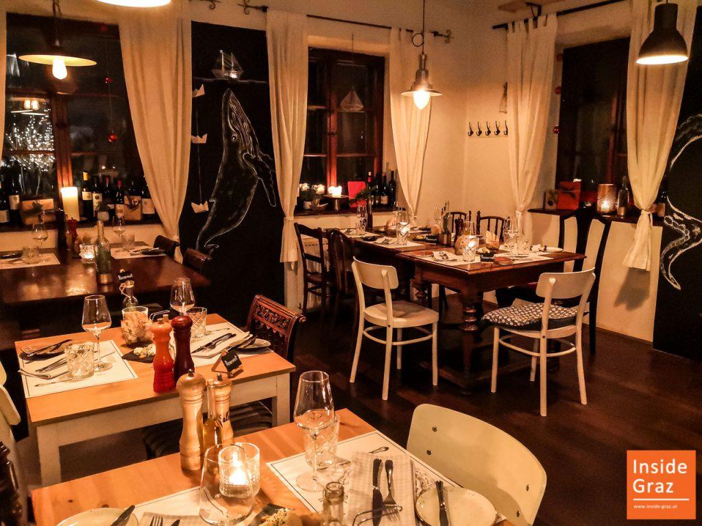 Restaurant Kornati Atmosphäre