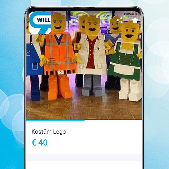 Lego Kostüm