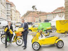 Postzustellung in Graz wird CO2-frei