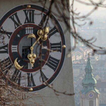 Uhrturm Detail