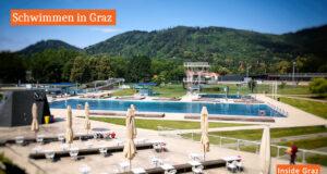 Schwimmen in Graz